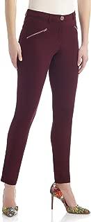 Women's Knit 5 Pocket Modern Skinny Pant w/Zippers