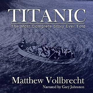 Titanic audiobook cover art