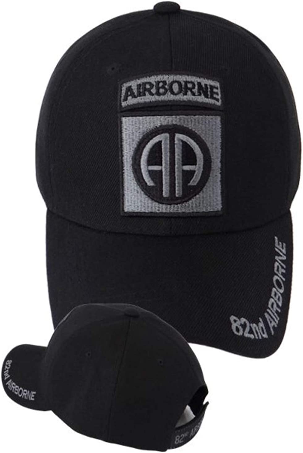 First Military Choice 82nd Airborne Division Emblem Military Cap Black