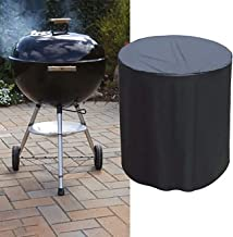 Uheng 28X28 Inch Charcoal Grill Cover, Rectangular Patio Table & Chair Set Cover, Durable and Water Resistant Fabric Outdoor Furniture Cover