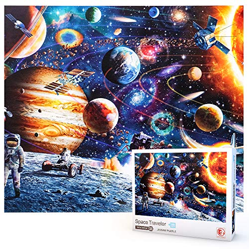 SUNTOY Puzzles for Adults 1000 Pieces, Jigsaw Puzzles for Adult Teen Puzzle...