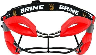 Brine Dynasty Women's Lacrosse Eye Mask Goggle Red