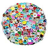 200 PCS Stickers Pack (50-500Pcs/Pack), Colorful Waterproof Stickers for Hydro Flask, Laptop, Phone, Water Bottle, Cute Aesthetic Vinyl Stickers for Teens, Girls