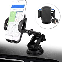 BTMAGIC Car Phone Mount, Dashboard Car Phone Holder, Ultimate Hands-Free Phone Holder for Car Dashboard, Washable Super Suction Cup, Compatible for iPhone 11/11 Pro / 8 Plus / 8 / X/XR/XS / 7 Plus