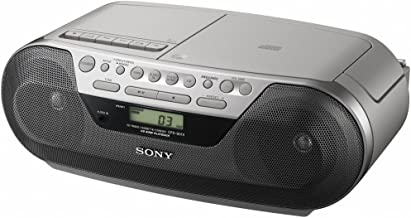 Sony CFDS05 CD Radio Cassette Recorder Boombox Speaker System (Discontinued by Manufacturer)