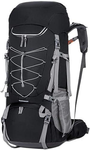 Camping Randonnée Voyage Sac à dos Sac à dos for alpinisme 75L Grand sac à dos for alpinisme en plein air - Sac à dos imperméable à la pluie for sac à dos de sport, adapté aux sports de montagne en hi