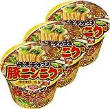 日清 デカうま 豚ニンニク味 111g×3個