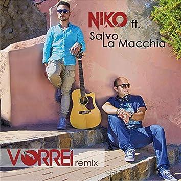 Vorrei (feat. Salvo La Macchia) [Remix]