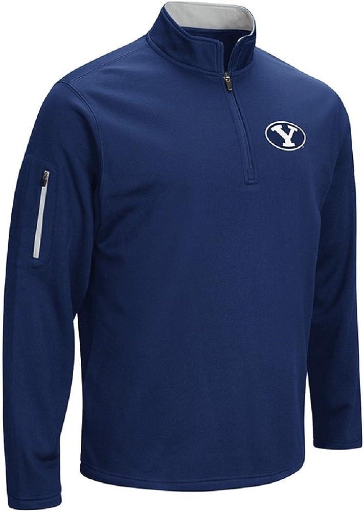 NCAA Mens OTS Poly Fleece 1//4-Zip Pullover