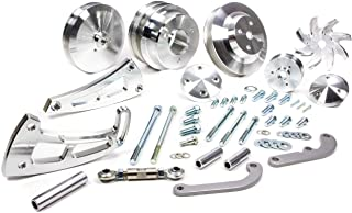 March Performance 23020 Performance Big Block Bolt-On Serpentine Conversion Pulley Kit