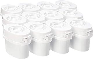 Amazon Basics Lot de 12cartouches pour carafe filtrante, compatibles avec carafes Aqua Optima et Brita MAXTRA (non compat...