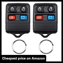 Pack of 2 KeylessOption Keyless Entry Remote Control Car Key Fob Replacement for Saab LTQSAAM433TX