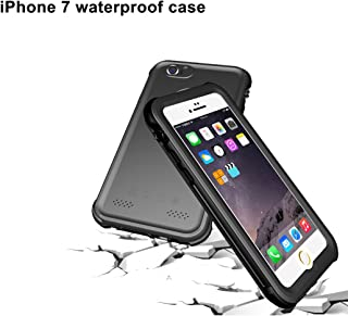 iPhone 7 Waterproof Case, Aggice Fully Sealed Protection Snow Proof Dirt Proof Shockproof Cover for iPhone 7
