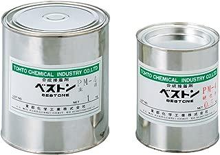 アズワン エポキシ系接着剤ベストン PM-4 (1セット入り) /1-6268-01