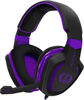 SADES SA807 3.5mm Wired Multi-Platform Stereo Sound Gaming Headset Over Ear Gaming Headphones For New Xbox one/ PS4/ PC/La...