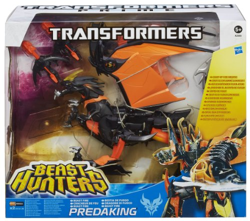 Hasbro A3355E24 - Transformers Prime Beast Fire Predaking