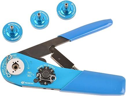 PRECISETOOL KIT1115 Crimper Set (YJQ-W1A (YJQ-W1A (YJQ-W1A Indents Crimp ToolsK41K42K43 Positioners) 20-32 AWG,for 20 , 22 , 22M , 22D  Pins Sockets B07HN19NKM | Outlet Online Store  29dbd4