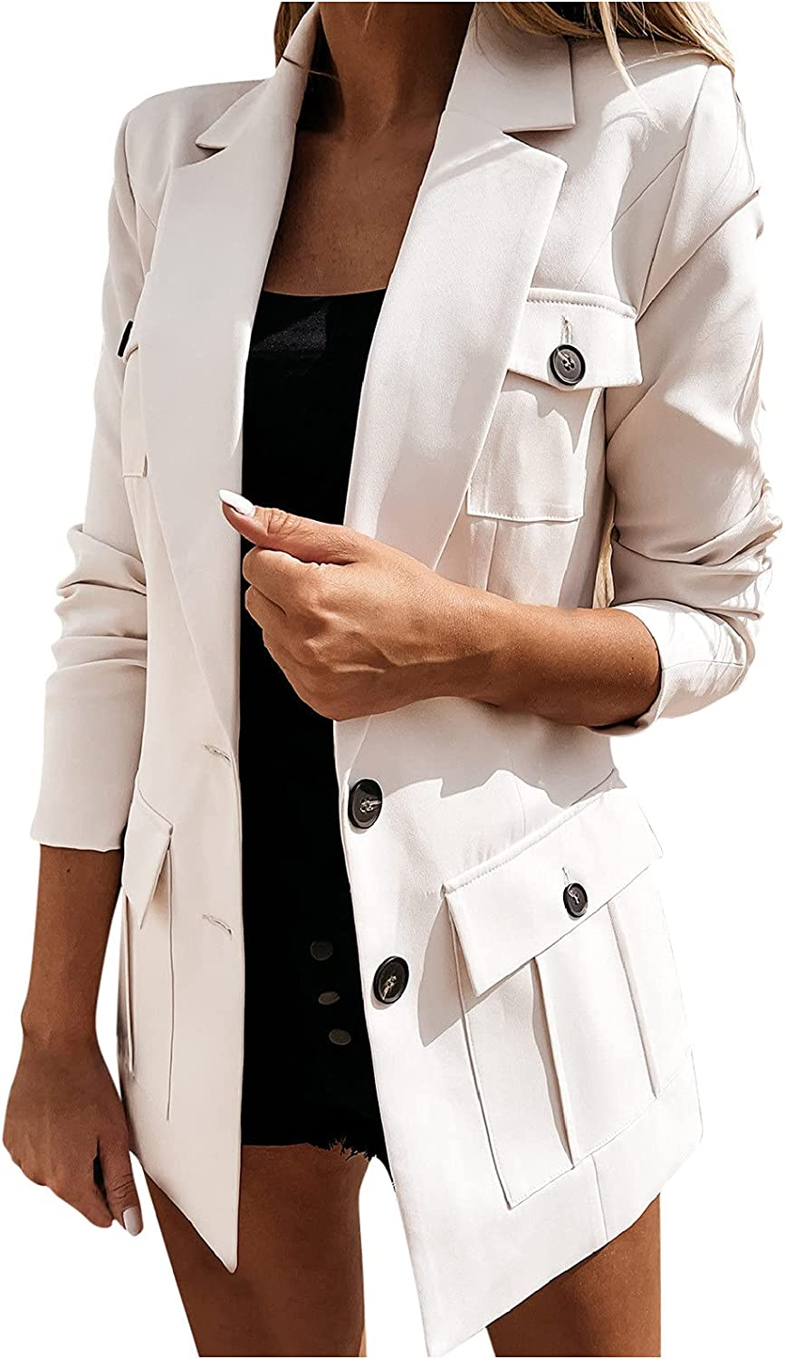 Blazer Jackets for Women Casual Lapel Latest item Coat Long T Fashion OFFicial store Sleeve