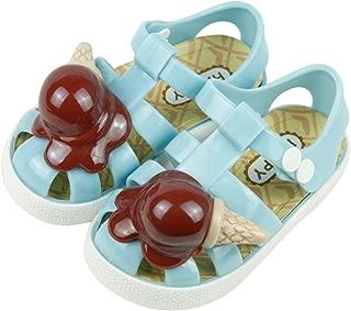 Unisex Child Candy Color Ice Cream Roman Anti-Slip Sandal