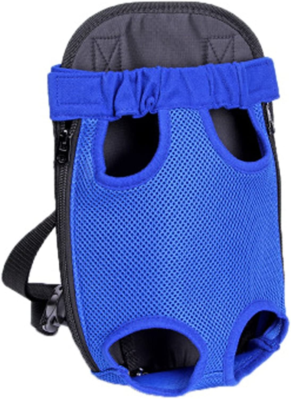 Portable Dog Carriers Pet Carrier Backpack Pet Bag Cat Travel Bag Outdoor, bluee