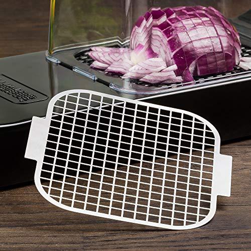 Alligator Reinigungsgitter aus Edelstahl 6x6 mm. Reinigungssieb passend Edelstahl und Original Kunststoff Schneider