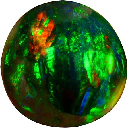 6 Pieces 100/% Natural Ethiopian Opal Cabochon Gemstone Multi Color Fire A Oval Shape L#28-3 9x7 mm Quality Gemstone For jewelry 6.3 Cts
