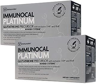 Immunocal Platinum by Immunotec 2-Pack (60 Pouches)