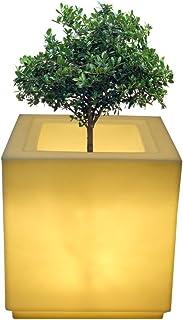 yuccabe italia LED Cube 18 Inches Planter