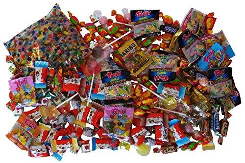 Sachet avec Bonbon et Chocolat pour Remplissage d'un Pinata 988g (210 pièces)