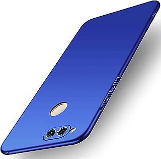 Avalri Compatible Huawei Honor 7X Case, Huawei Mate SE Case,Ultra Thin Anti-Fingerprint Minimalist Hard PC Cover Huawei Honor 7X /Huawei Mate SE (Silky Blue)