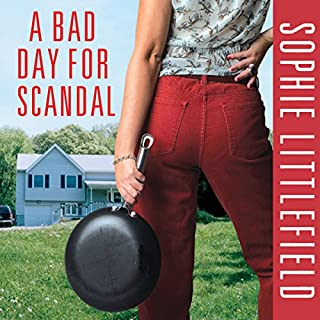 A Bad Day for a Scandal cover art