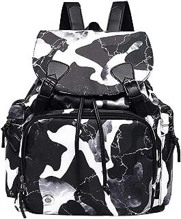 chinatera Waterproof Gym Swimming Drawstring Backpack, Camo Print Lightweight Dry Wet Separated Swim Bag Gym for Women Men Boys Girl