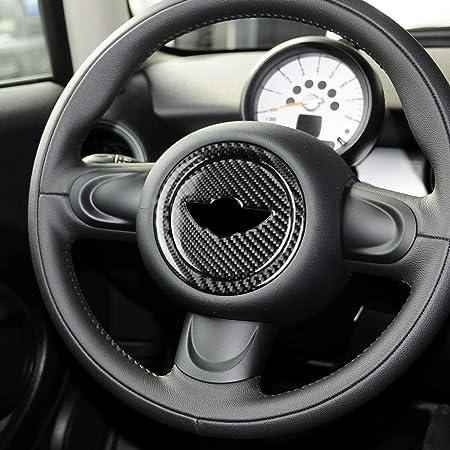 Type A LVBAO Carbon Fiber Interior Steering Wheel Frame Cover Trim ...