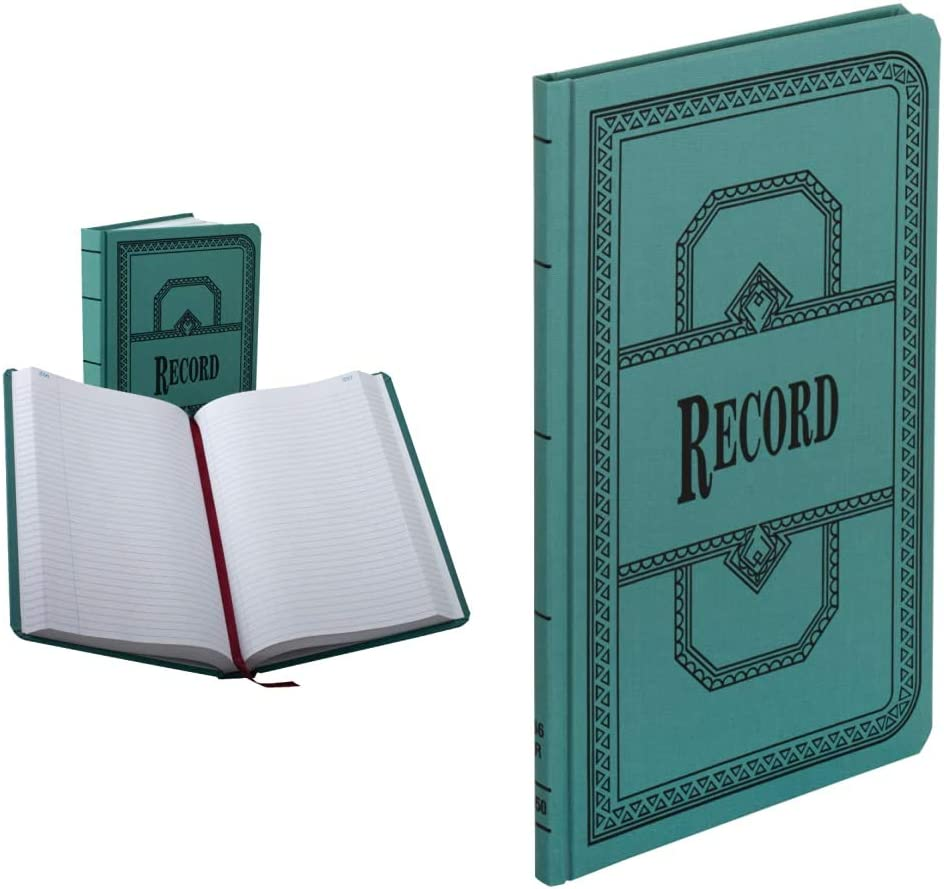 Boorum Pease Import 66500R Record Price reduction Account Blue 50 Rule Book