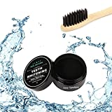 Activated Charcoal Teeth Whitening Powder - Organic Coconut Charcoal - 100% Natural Plus Bamboo Tooth Brush