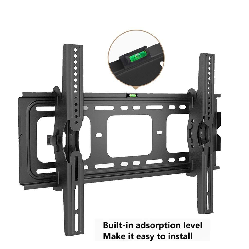 Estante Soporte de montaje en pared para TV Soporte para televisor de alta resistencia Soportes de pared para TV inclinado de perfil bajo para la mayoría de las pantallas planas de plasma