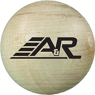A&R Sports Wood Stick Handling Ball, 2