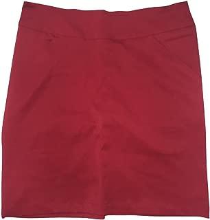 Antigua Women's Red Performance Moxie Skort
