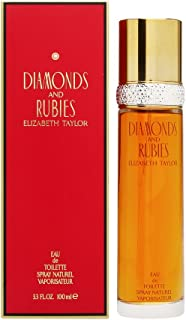 Diamonds and Rubies by Elizabeth Taylor for Women, Spray, 3.3-Ounce