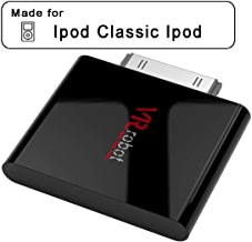 VR-robot 30-Pin Bluetooth Transmitter for iPod Mini iPod,Bluetooth Adaptor (Only for Device Before 2007) (Black)