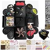 MAEKIJOY Kreative Überraschung Box Explosionsbox Geschenkbox Stickervarianten DIY Faltendes...