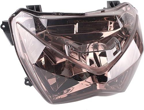 2021 Mallofusa 2021 Motorcycle Headlight Headlamp Assembly Compatible for Kawasaki popular Z800 Z250 2013 2014 outlet online sale