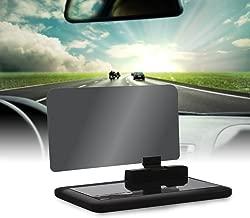 VGEBY Car HUD Phone GPS Navigation HD Image Reflector Head Up Display Phone Holder Mount