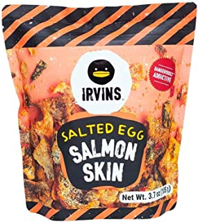 IRVINS Dangerously Addictive Salted Egg Chips Crisps Snacks (Salted Egg Salmon, 105g)