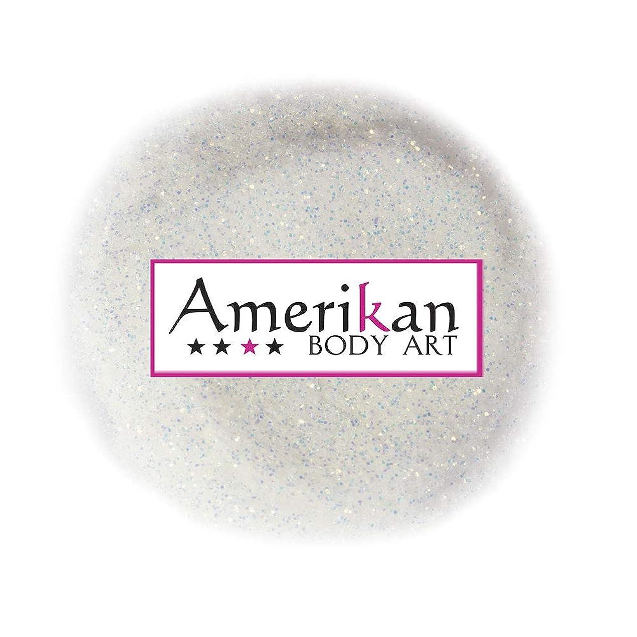革命財政最後のAmerikan Body Artバイオコンポストチャンキーグリッター - ファイアーオパール(0.008