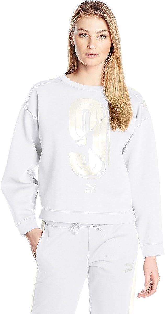 PUMA Women's Number 9 Crew Sweatshirt