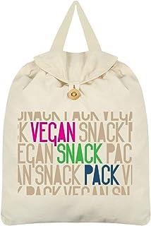 Vegan Snack Pack Festival Backpack Cream 35x41cm