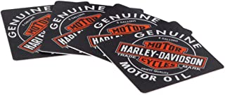 Harley-Davidson Genuine Oil Can Coasters, Includes Set of 25 HDL-18540