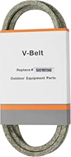 Outdoors & Spares Replaces OEM 197242,532197242,and 71460096,336315 Deck Drive Belt for 48