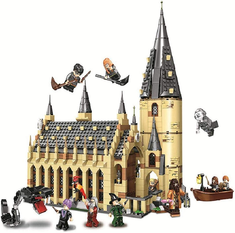 Binglinghua Building Block Toys Hogwarts Great Hall Building Blocks Brick Educational Toys